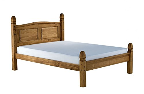 Corona Double 4'6' Low End Bed Frame