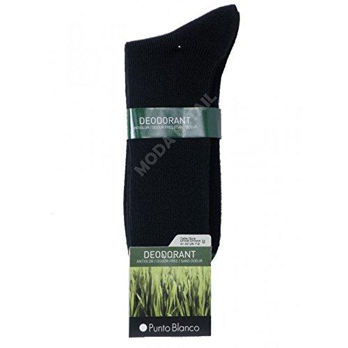 Punto Blanco 1382010 Calcetines cortos, Negro (Negro 090),