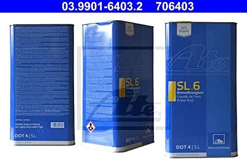 ATE 03.9901-6403.2 Bremsflüssigkeit, 4.5L Volumen