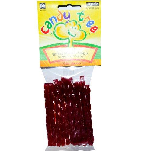 Candy Tree, Organic Himbeere Twists, 2.6 oz (75 g)