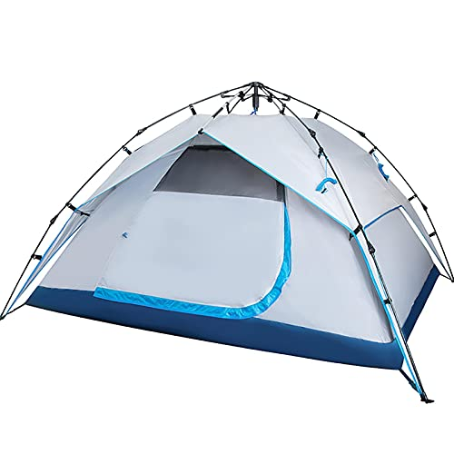 AYZE Carpa Camping, Ventana De Malla B3, Soporte De Resorte HidráUlico AutomáTico, Revestimiento Impermeable 190t, Carpas De Jardin, 230 X 200x 135 Cm 1