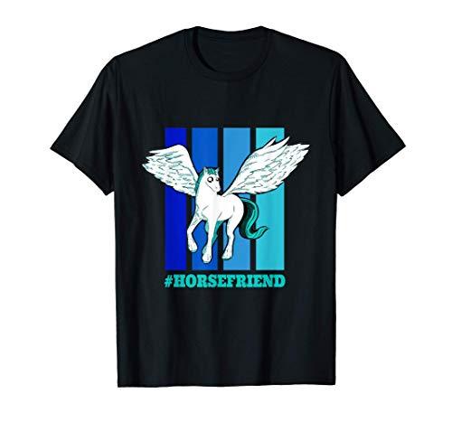 Pferdefreund - #HORSEFRIEND | Pferd Pferdebesitzer Engel T-Shirt