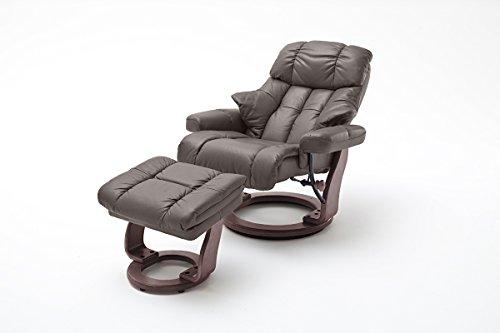 Robas Lund, Sessel, Relaxsessel, Calgary XXL, Leder/braun, 92 x 97 x 110 cm, 64038BK5