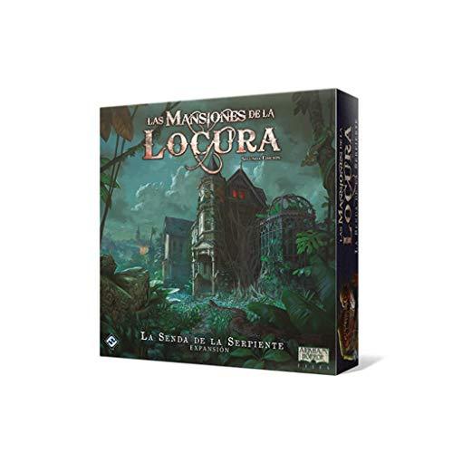 Fantasy Flight Games-Las Mansiones de la Locura-La Senda de la Serpiente, Color (FFMAD28)
