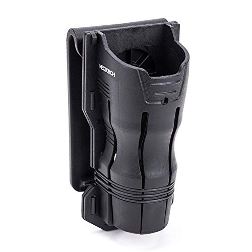 Nextorch V6 Tactical Flashlight Holster 360 Rotation Compatible Holder for 24mm-30mm Diameter Small Size Flashlight