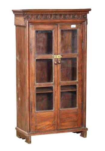 La India 1910 esbeltoconstellation con gran cristal armario madera tallado