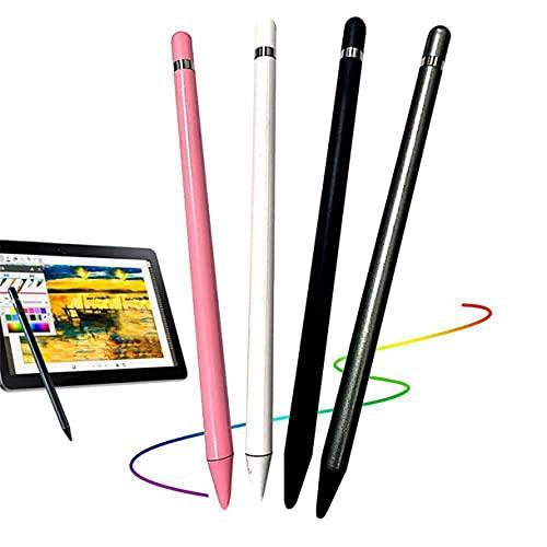 Lápiz óptico para Pantalla táctil Compatible con iPhone, iPad, teléfono Samsung, Tableta, lápiz óptico Capacitivo Universal Delgado con Pantalla táctil para Escribir y Dibujar (Gris)