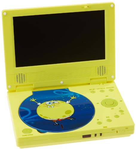 Unbekannt Linmark SBPDVD0902 - Tragbarer DVD Spieler Spongebob