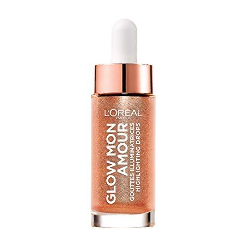 L'Oréal Paris Glow mon Amour Highlighting Drops 02 Loving Peach, 1er Pack (1 x 15 ml)