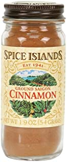 Spice Islands Cinnamon, Ground, 1.9-Ounce (Pack of 3)