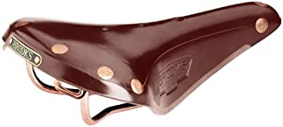 Brooks England B17 Bike Saddle - Handmade Leather Bike Seat (Steel, Titanium, Copper)
