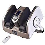 Livecreative Shiatsu Foot Massager Machine with Heat Therapy, Increases Blood Flow Circulation, 3 in 1 Customizable Massage with Remote Control for Feet, Ankles, Legs, Arms