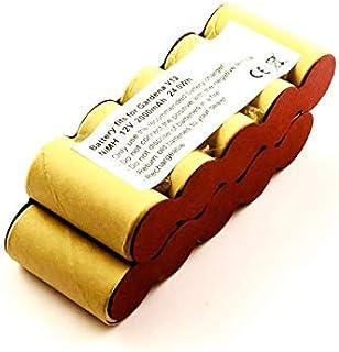 Batteri för Gardena V12 häcksax och busksax, såsom 2110, 62901, 2000 mAh, 12 V