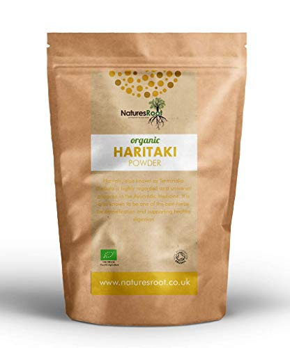 Nature's Root Harad Powder 500g - Haritaki Powder | Ayurveda Herb | 100% Natural | Superfood Supplement | Terminalia Chebula