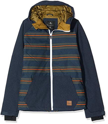 G.S.M. Europe - Billabong Herren All Day Skijacke, Cali Blue Heath, XL