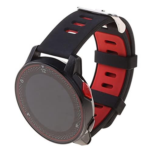WuLi77 Reloj inteligente, rastreador de fitness IP68 impermeable, reloj inteligente con monitor de sueño, frecuencia cardíaca, función deportiva, para hombres