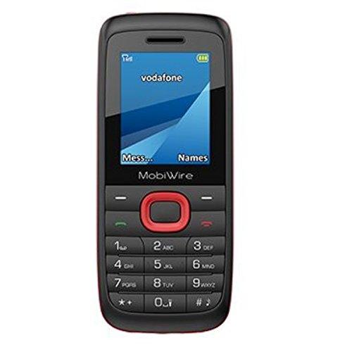 Vodafone Mobiwire Ayasha Prepaid-Smartphone (beschränkt auf das Vodafone-Netz), schwarz