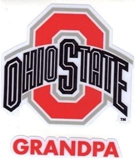 Ohio State University Grandpa Window Decal