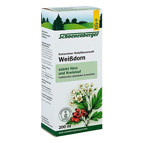 WEISSDORN SAFT Schoenenberger 200 ml