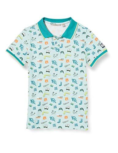 Mexx Jungen 951340 Poloshirt, Mehrfarbig (Allover Print 318803), 164 (Herstellergröße: 158-164)