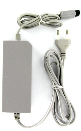 Kabalo AC Adapter rete, alimentazione (con l'UE connettore 2-pin) Cavo / Cable: per Nintendo Wii Console [AC Mains Adapter, Power Supply (with EU 2-pin plug) Lead/Cable: for Nintendo Wii Console ]