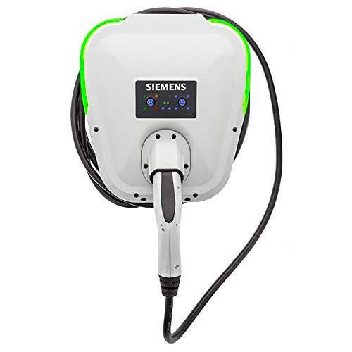 Siemens 5TT3201-1VR03 Cargador monofásico para coches eléctricos, tipo 2, 32A, 7,2KW con cable de 7 Metros
