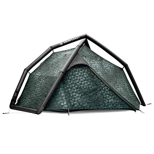 HEIMPLANET Original | Fistral 1-2 Person Tent | Inflatable Tent - Set Up in Seconds | Waterproof Outdoor Camping | Supports 1% for The Planet