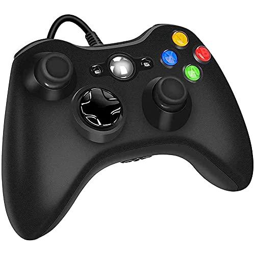 Controle com Fio para console Xbox 360 E Pc Slim Joystick.