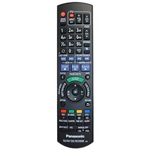 Original Panasonic N2QAYB000986 Fernbedienung für DMR-BST740, DMR-BCT940, DMR-BCT845