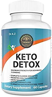 Keto Detox Supplement for Women and Men- Natural Ketosis - Advanced Weight Loss Supplements- Cleanse Detox -Energy Booster