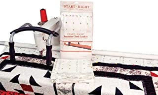 Grace Frame Start-Right Leader Cloth Quilt Pattern/ Grided Cloth Leaders / Majestic Leader Cloth / Frame Cotton Cloth - 112 Inches