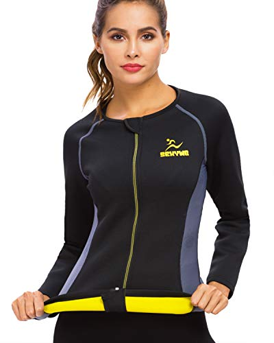 SEXYWG Manches Longues Costume Sauna pour Femme T-Shirt...