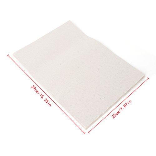 YOURPAI Pflanzpapier,20 Blatt Sprossen Gemüsepflanzpapier Keimung Kindergarten Feuchtigkeitspapier Weiß
