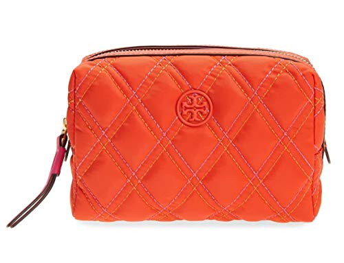 Tory Burch Ladies Perry Nylon Mixed-Stitch Small Cosmetic Case