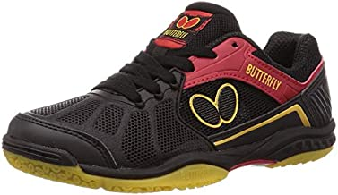 Butterfly Lezoline Rifones Shoes - Table Tennis Shoes for Men or Women - Athletic Support, Flexibility, Shock Absorbing Cushion, Gripping Ping Pong Shoe