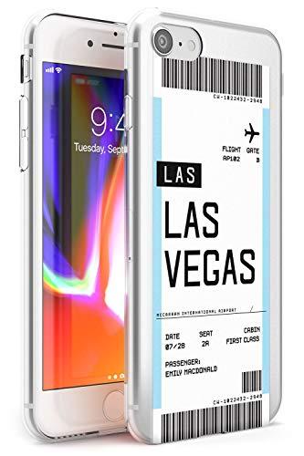 Personalizado Tarjeta De Embarque: Las Vegas Estuche delgado para iPhone 6, for iPhone 6s | Claro Silicona TPU Protector Ligero Ultra Thin Cubrir Modelo Impreso | Personalizado Viajero Pasión De Viaja