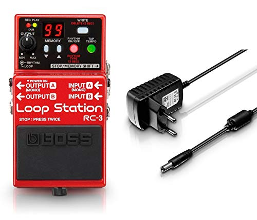 Boss RC3 Pack Looper + Adaptador Corriente Palmer