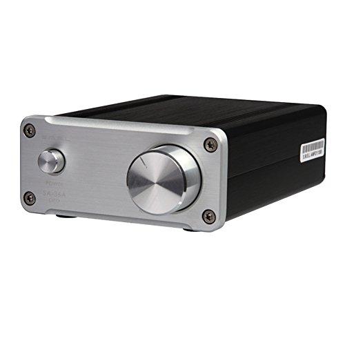 Questo amplificatore di classe audio d hifi usa STMicroelectronics (ST) TDA7492PE come core, utilizza EPCOS, Panasonic, TDK, VISHAY, PYCOS e altri accessori per la febbre di alta qualità Utilizza l'avanzato involucro in alluminio e il processo di oss...