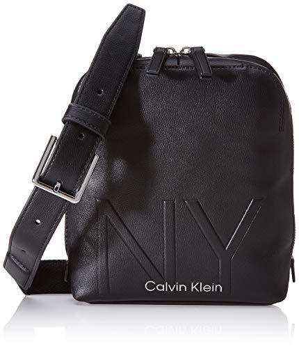 Calvin Klein Shaped Cvrtbl Mini Reporter - Borse organizer portatutto Uomo, Nero (Black), 0.1x0.1x0.1 cm (W x H L)