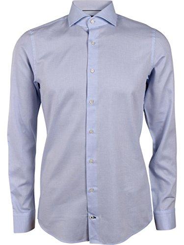 Joop! Herren 17 JSH-04Panko 10005195 Businesshemd, Blau (Blau 437), Kragenweite: 45 cm