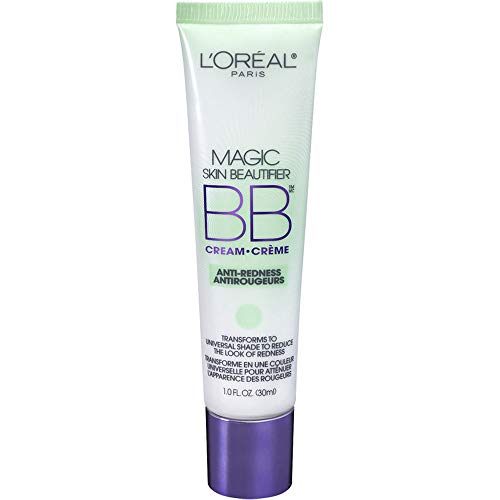 L'oreal Paris Magic Skin Beautifier Bb Cream, Anti-redness, 1 Fluid Ounce (Two Pack)