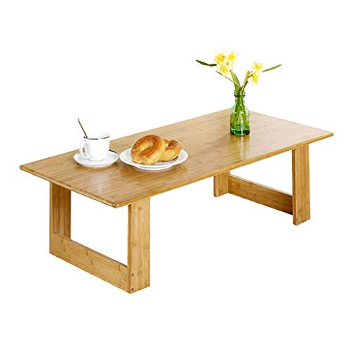 Ren Chang Jia Shi Pin Firm Tables Basses Table Basse Table Table Salon Table à Manger Table Basse Petite terrasse Balcon Tatami (Color : Beige, Size : 100 * 48 * 30cm)
