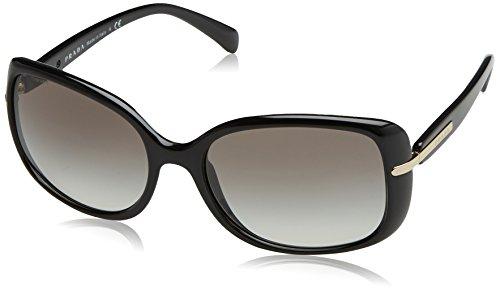 Prada Damen PR08OS Sonnenbrille, Schwarz (Black 1AB0A7), One size (Herstellergröße: 57)