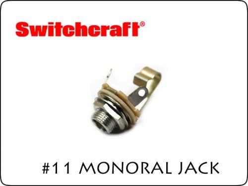 SWITCHCRAFT MONO JACK #11 ギターパーツ