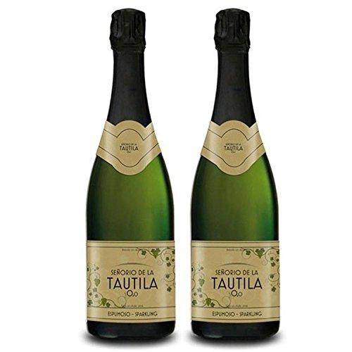 Tautila Espumoso Blanco Non-Alcoholic Sparkling Wine 750ml (2 Bottles)