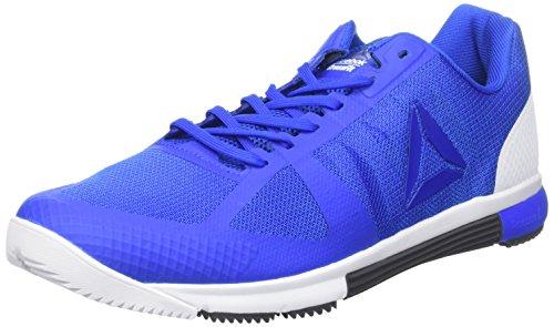 Reebok R Crossfit Speed TR 2.0, Zapatillas de Gimnasia para Hombre, Azul (Vital Blue/Black/White/Ash...