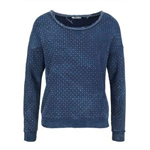 LTB Damen Sweatshirt Pullover BANIFE blau (S)