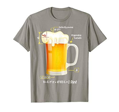 Regalo Original Friki Camisetas Cerveza Técnica Beer Camiseta