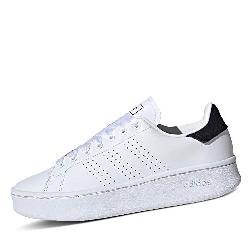 adidas Performance Advantage Bold Sneaker Damen Weiss/schwarz, 6 UK - 39 1/3 EU - 7.5 US