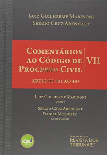 Comentários ao Código de Processo Civil V. VII - Artigos 381 ao 484